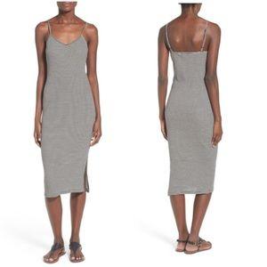 Socialite Midi Striped Dress